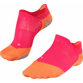 Falke RU 5 Invisible Skarpetki Kobiety, różowy/pomarańczowy